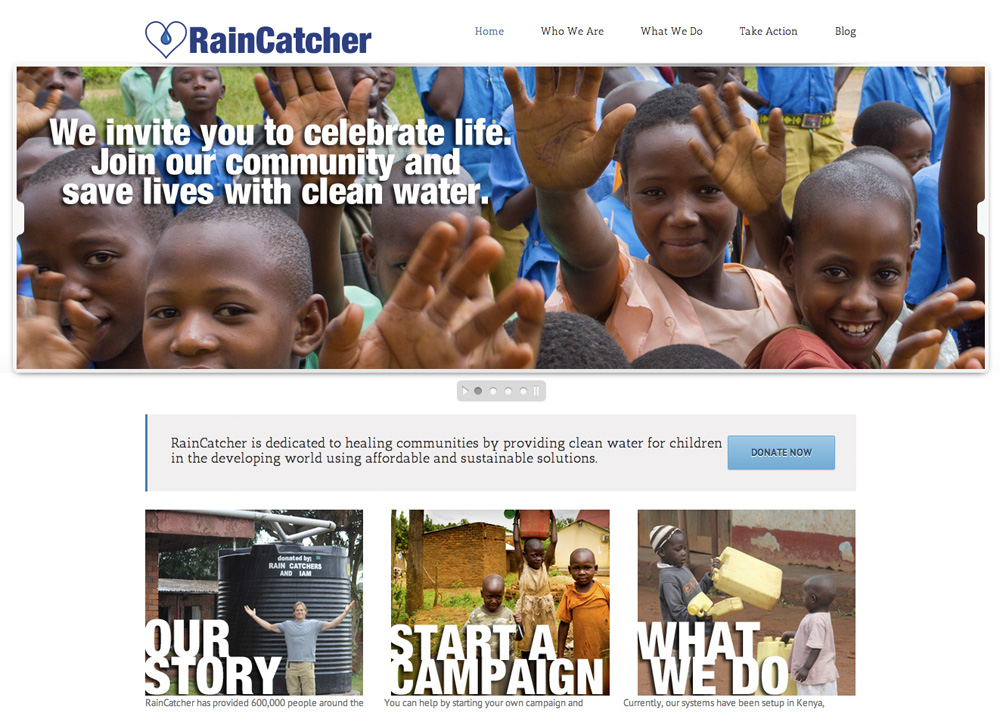 RainCatcherWebSite