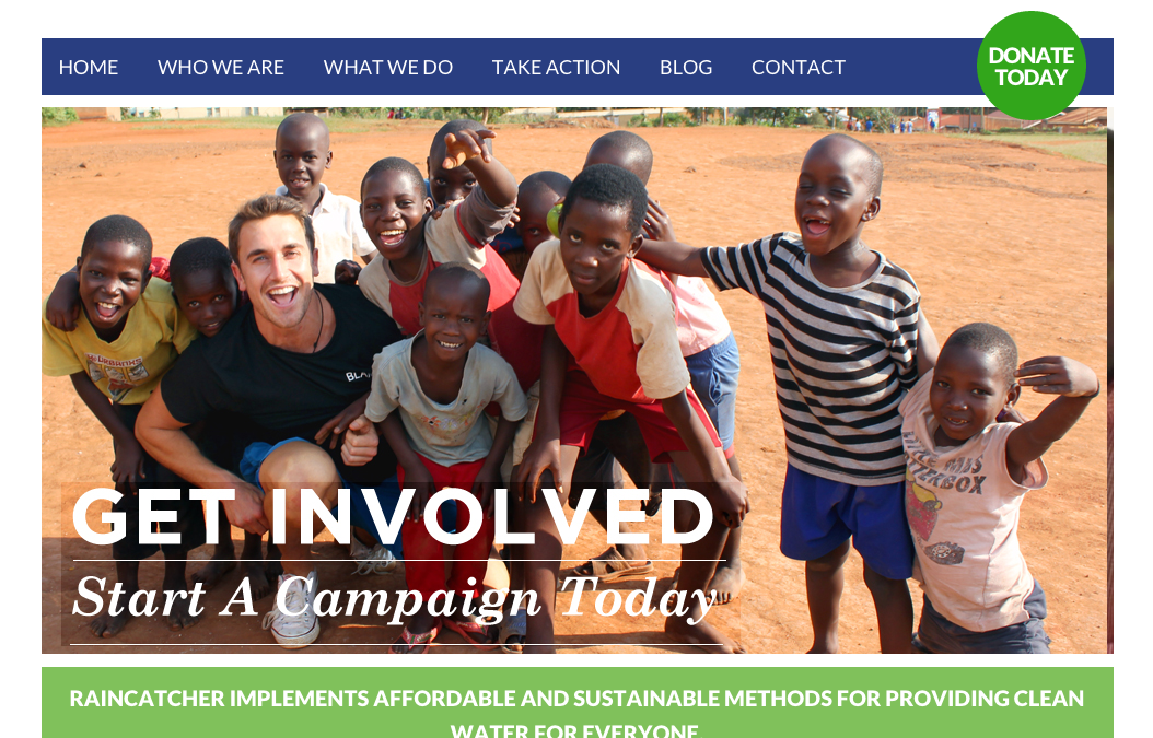 WordPress NonProfit Website